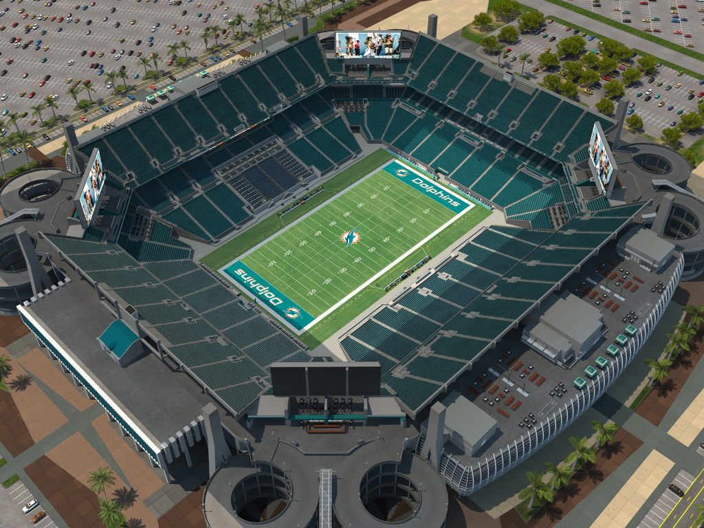 Miami Dolphins Stadium Interactive Seating Chart Miami